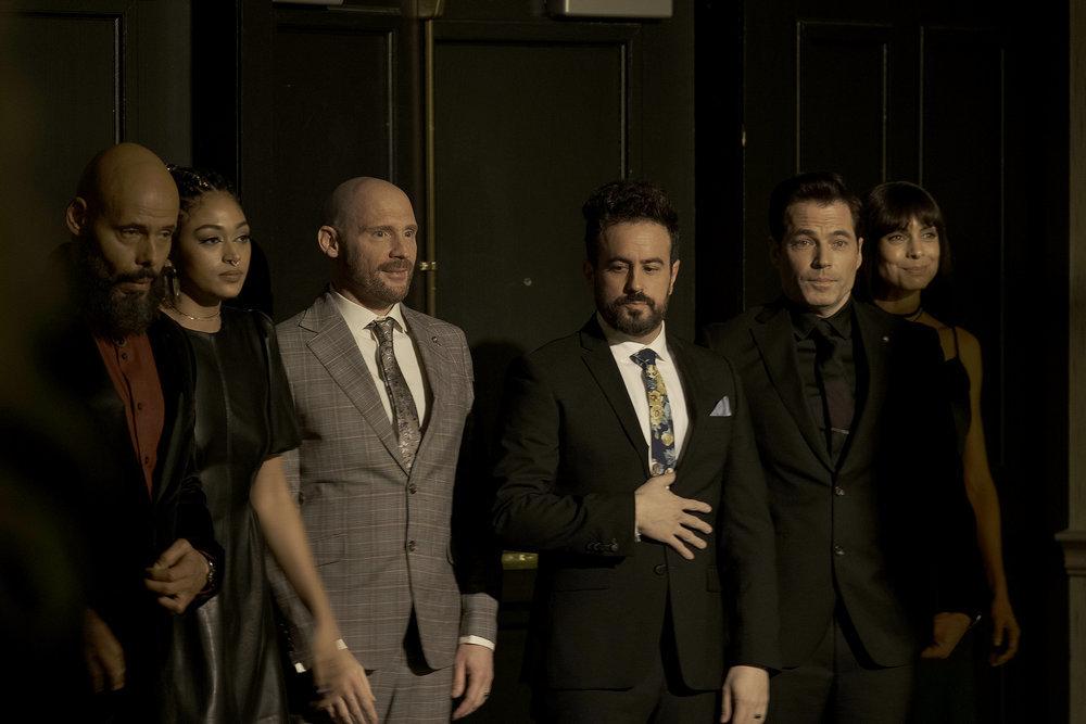 "Still of SurrealEstate cast in ""Quarantine."""