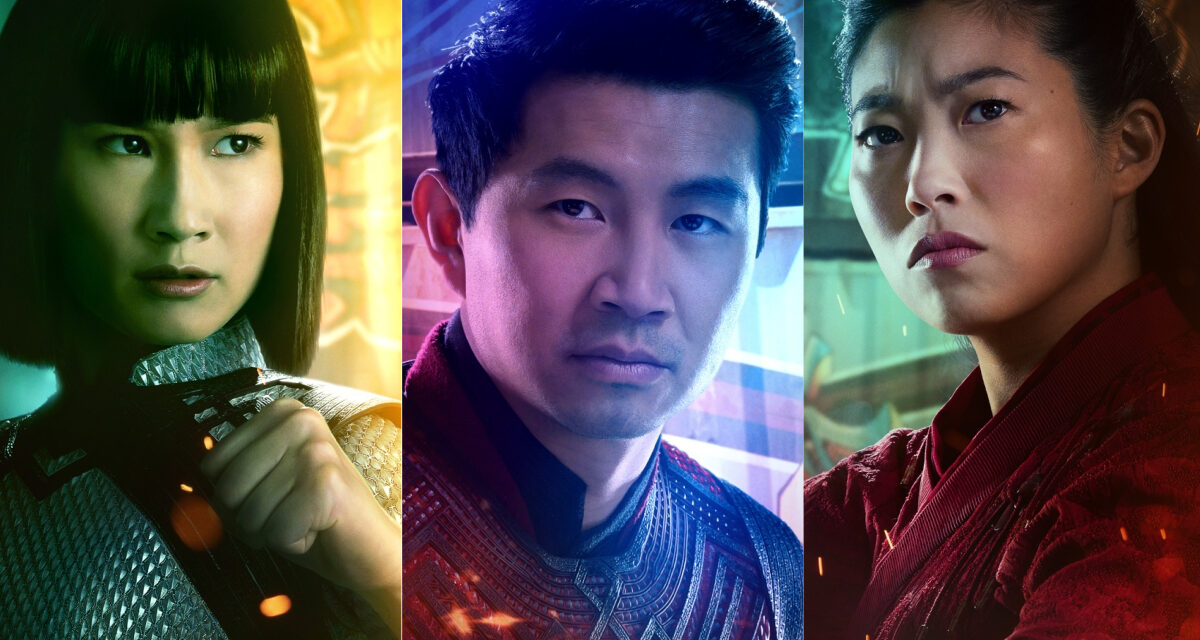SHANG-CHI AND THE LEGEND OF THE TEN RINGS Drops New Posters