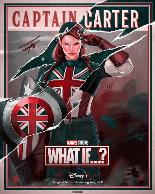 Peggy Carter as Captain Carter in Marvel's What If...?