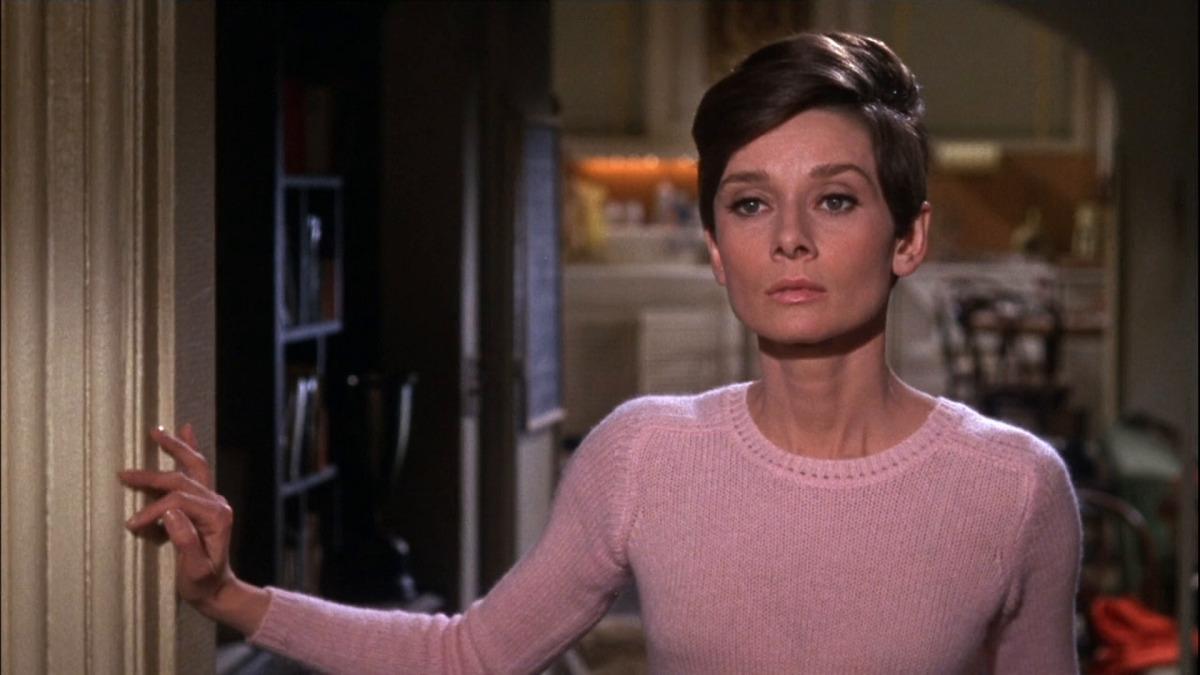 Still of Audrey Hepburn in horror movie Wait Until Dark.