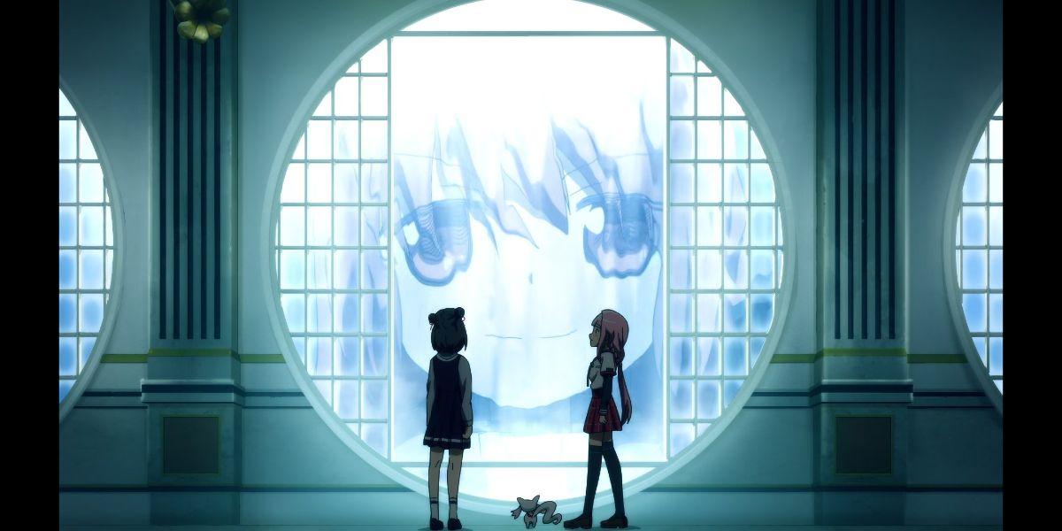 magia record season 2 episode 5 - Touka explaining her plan