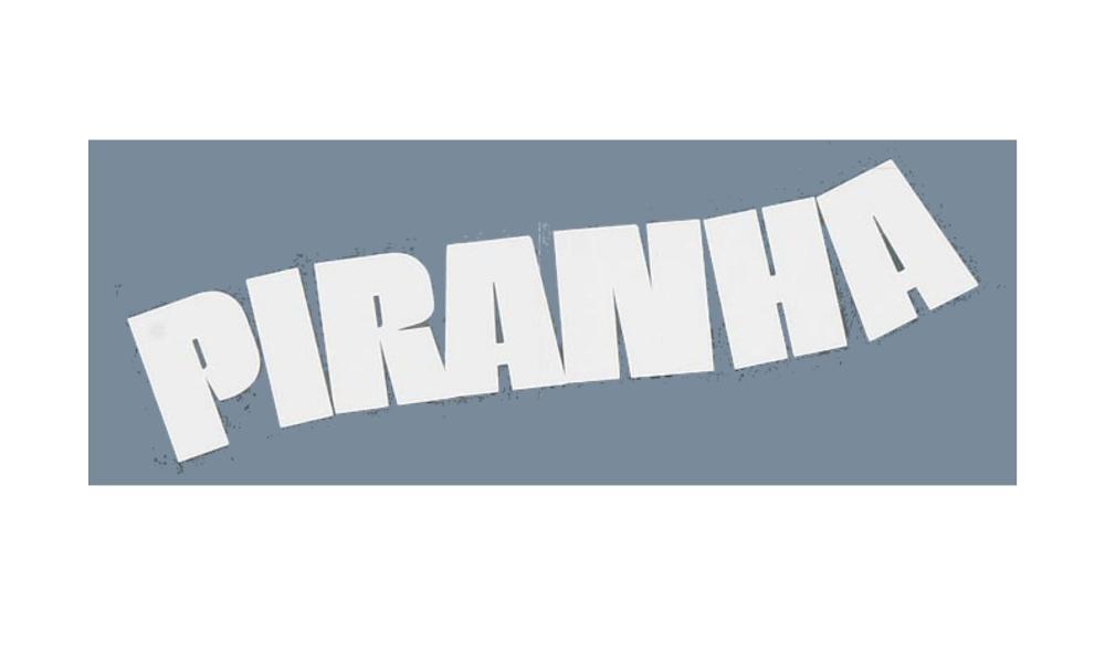 Piranha logo Summer horror