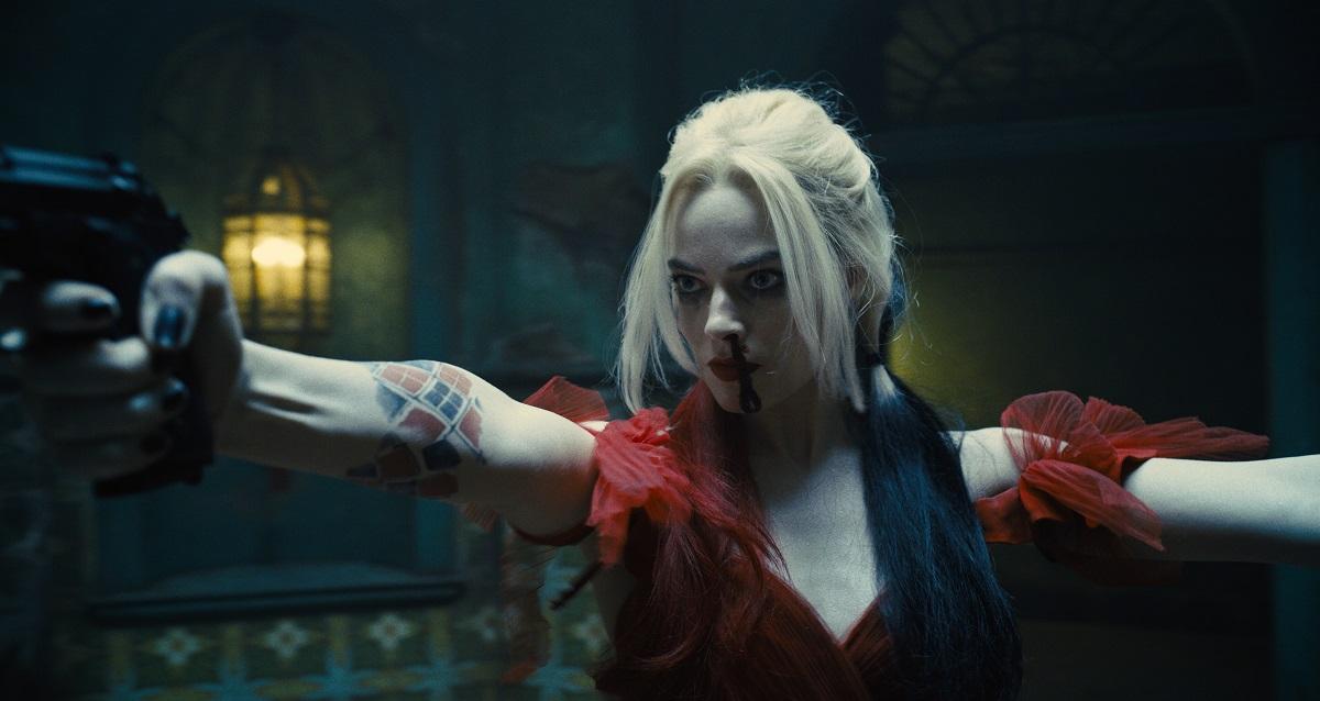 Still of Margot Robbie in James Gunn's The Suicide Squad.