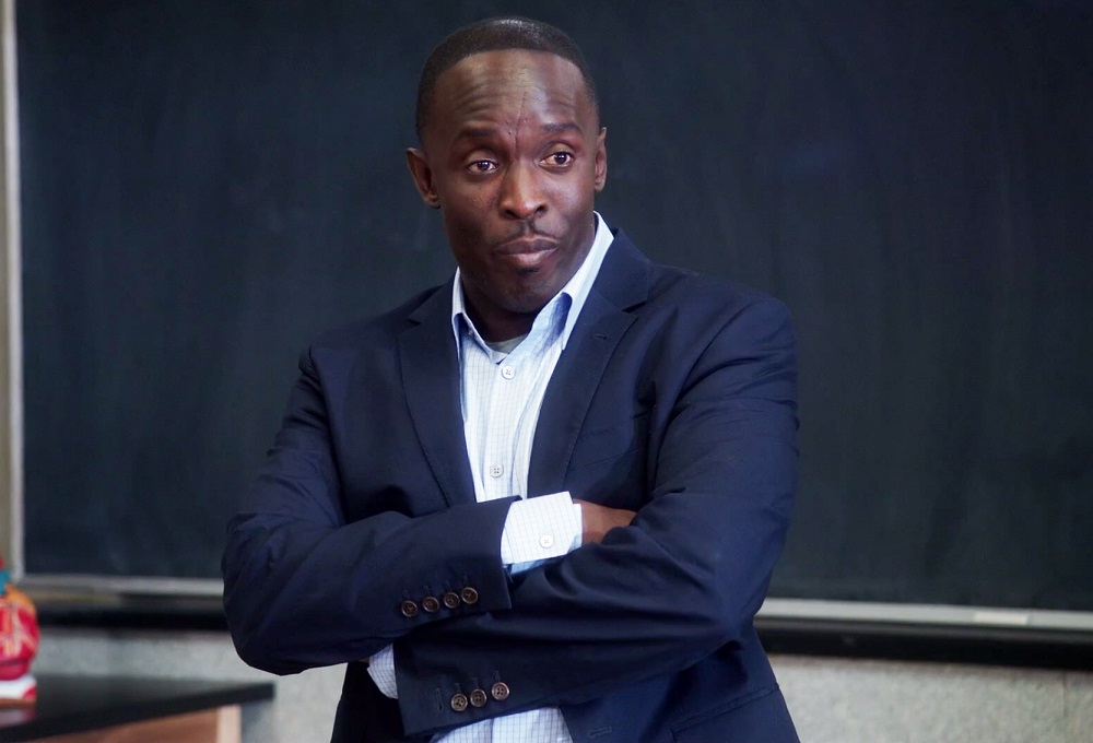 """Still of Michael Kenneth Williams in the Community episode """"Biology 101."""""""