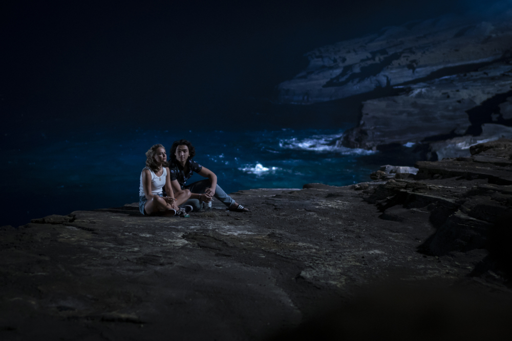 I Know What You Did Last Summer first look image of Madison Iseman and Sebastian Amoruso.