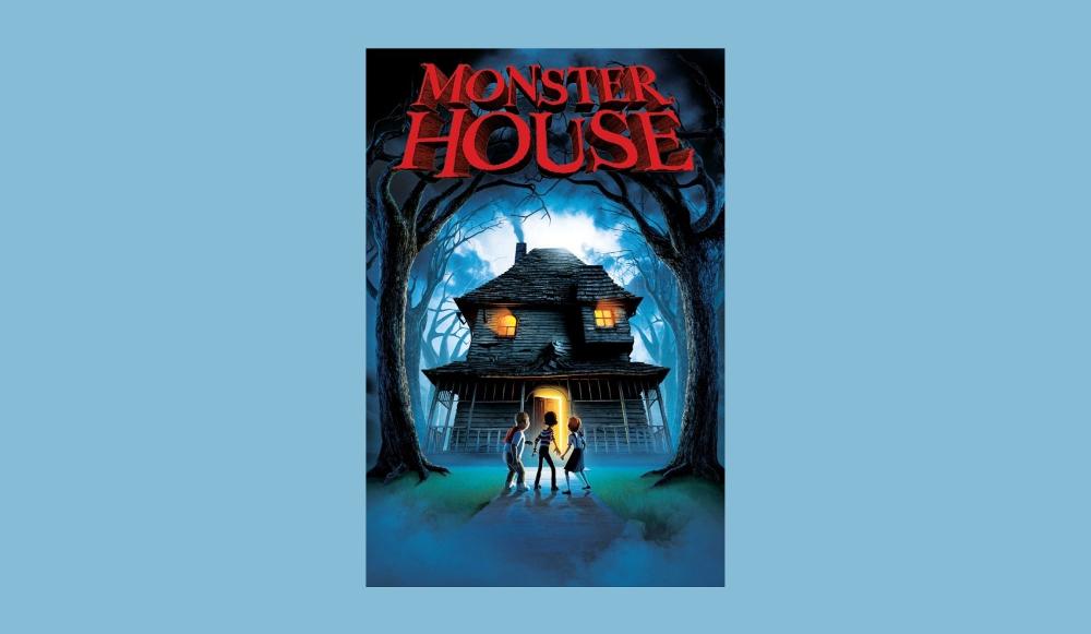 Monster House poster - horror beginner