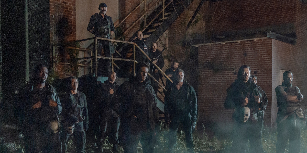 The newest villians, the Reapers on The Walking Dead