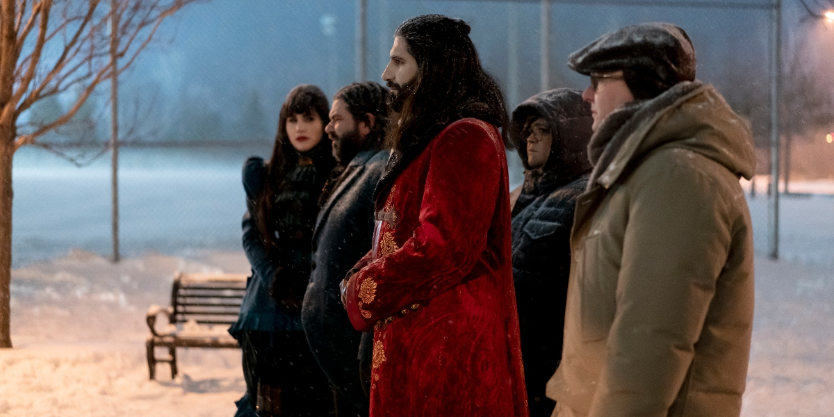 The Vampires make peace with the werewolves for love on What We Do in the Shadows