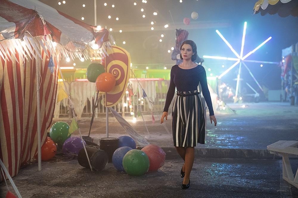 Still of April Bowlby as Rita Farr in Doom Patrol.