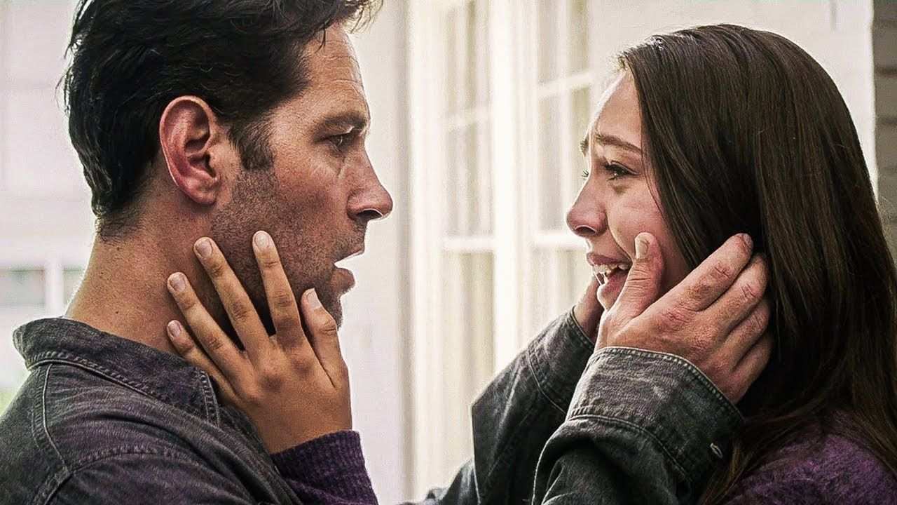 A teenage Cassie Lang reunited with her father, Scott Lang, after the Snap in Avengers: Endgame