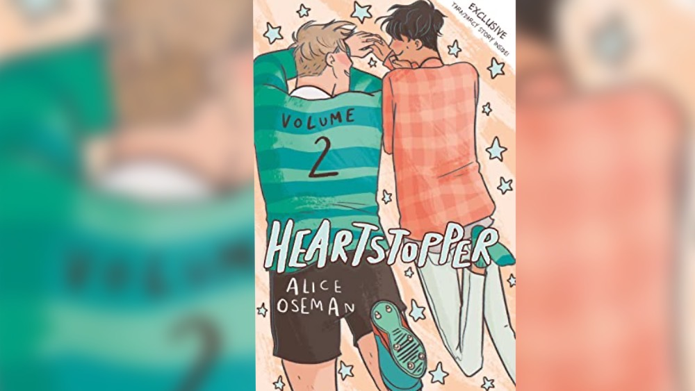 disaster bisexual: heartstopper cover