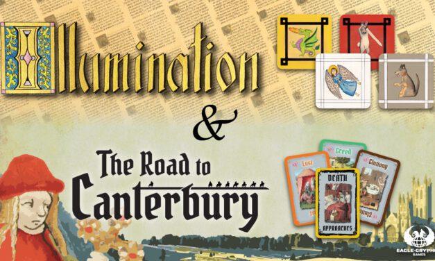 ILLUMINATION Board Game – Kickstarter Achievement Unlocked!