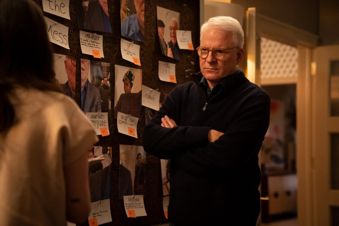 """Still of Steve Martin in the Only Murders in the Building episode """"Twist."""""""