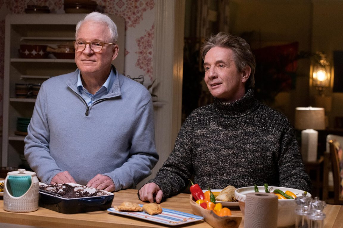 """Still of Steve Martin and Martin Short in """"To Protect and Serve."""""""