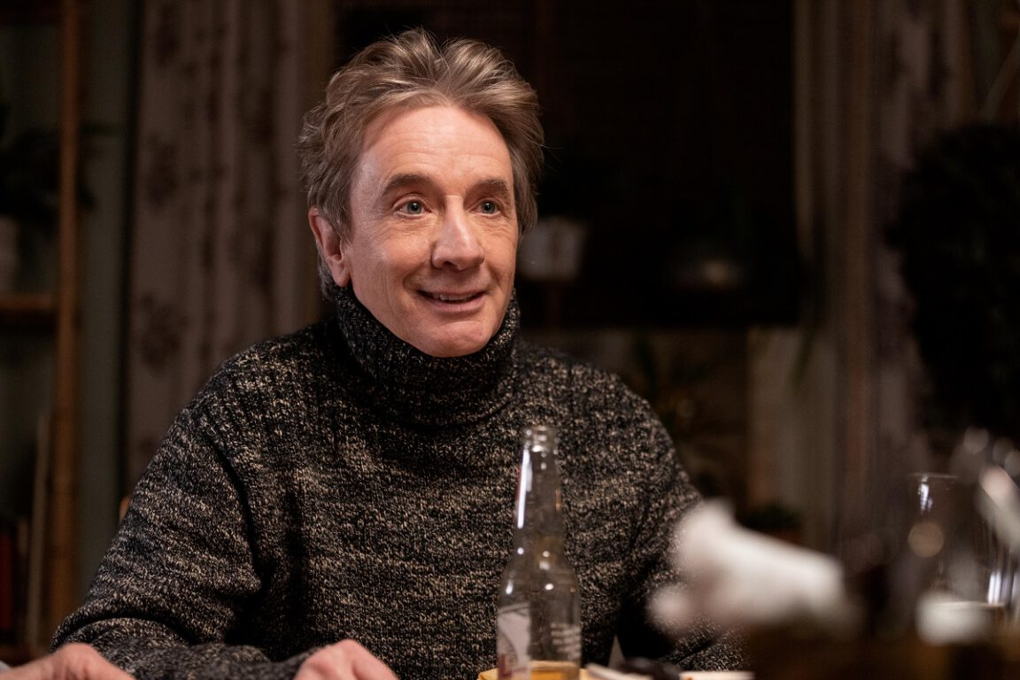 """Still of Martin Short in the Only Murders in the Building episode """"To Protect and Serve."""""""