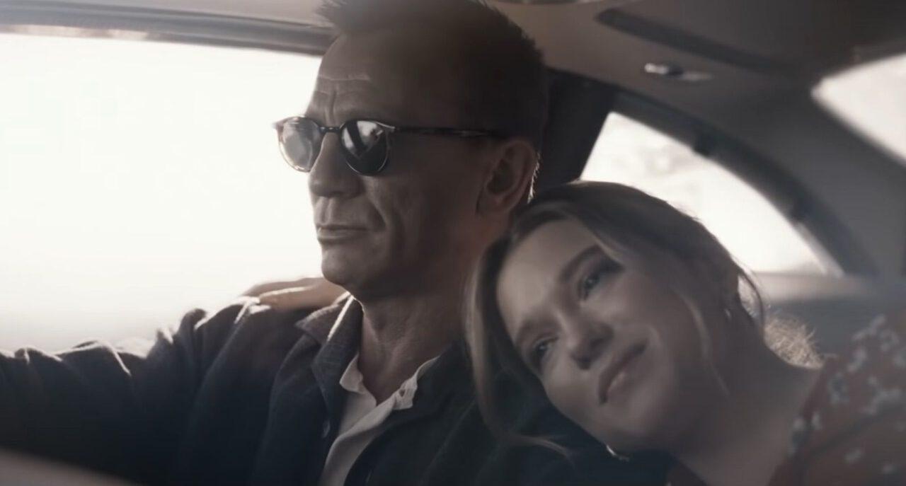Daniel Craig, Léa Seydoux in No Time to Die