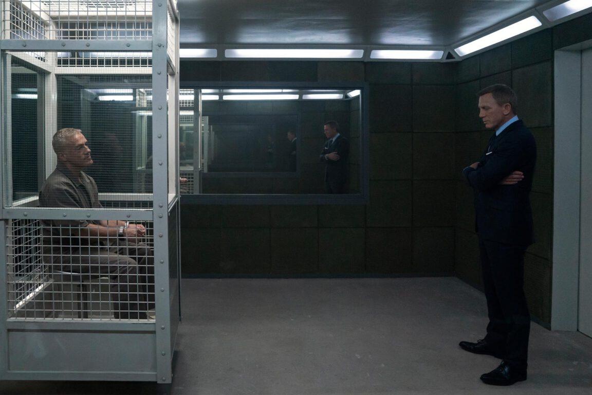 Daniel Craig, Christoph Waltz in No Time to Die - MGM/EON Prods.