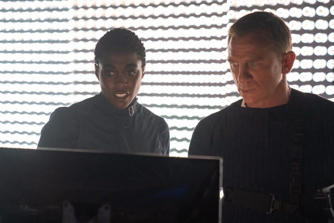 Daniel Craig, Lashana Lynch in No Time to Die - MGM/EON Prods.