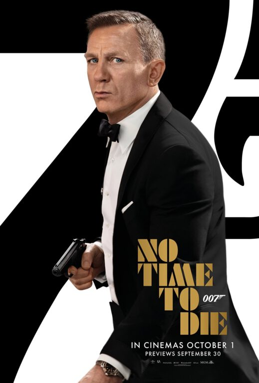 No Time to Die poster - MGM/EON Prods.