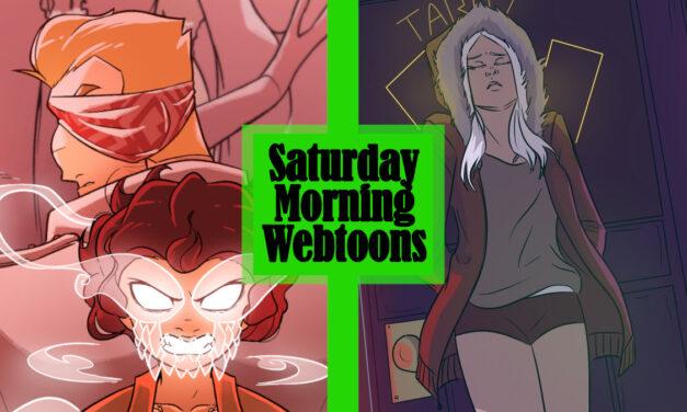Saturday Morning Webtoons: OF SWAMP & SEA and SHARD