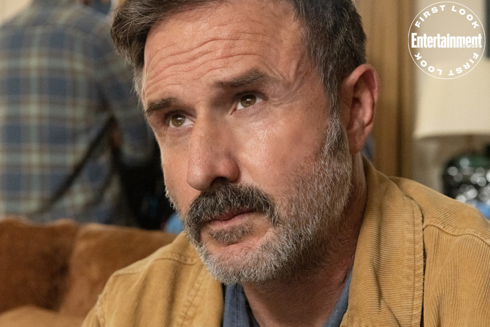David Arquette as Dewey Riley in 'Scream' (2022) | Credit: Brownie Harris/Paramount Pictures and Spyglass Media Group