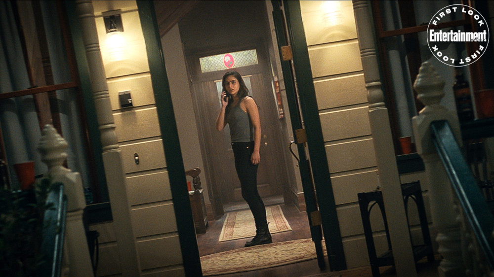 Melissa Barrera as Sam in 'Scream' (2022) | Credit: Courtesy of Paramount Pictures and Spyglass Media Group
