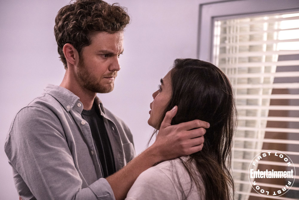 Jack Quaid and Melissa Barrera as Richie and Sam in 'Scream' (2022) | Credit: Brownie Harris/Paramount Pictures and Spyglass Media Group