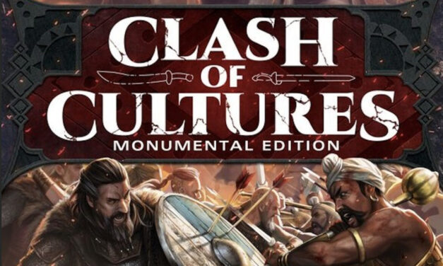 CLASH OF CULTURES: Monumental Edition Board Game Unboxing