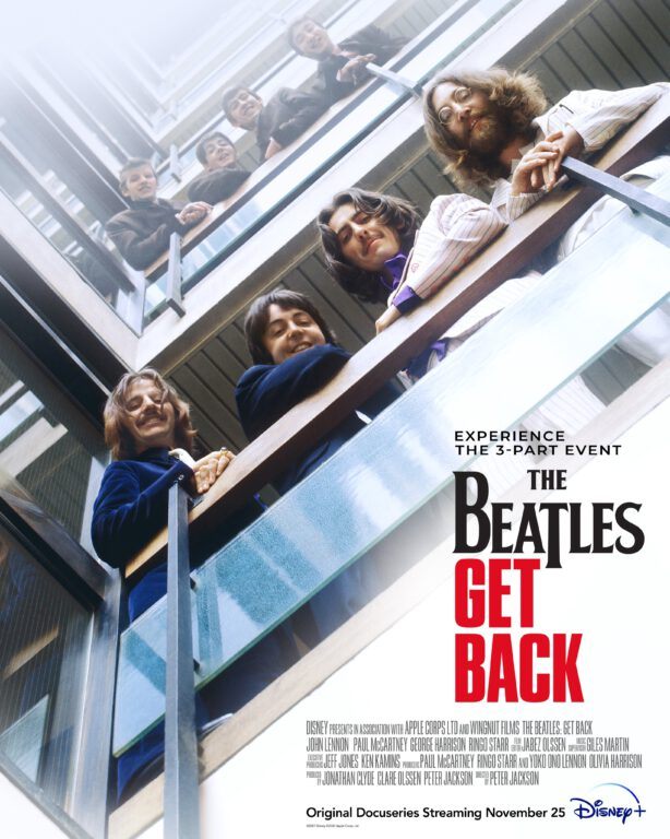 The Beatles Get Back series poster.
